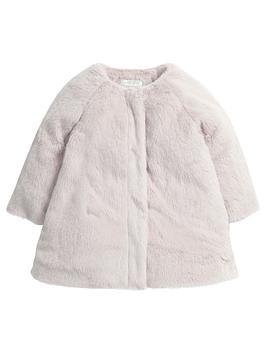 mamas-papas-mamas-amp-papas-faux-fur-collar-coat