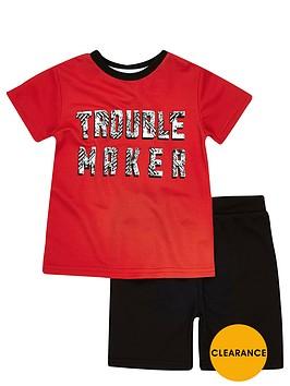river-island-mini-boys-trouble-maker-mesh-t-shirt-and-shorts-set