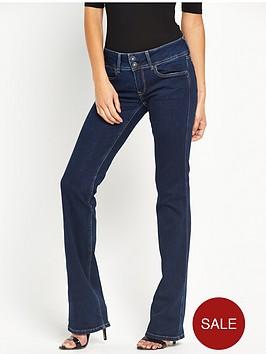 pepe-jeans-grace-mid-rise-bootcut-jean