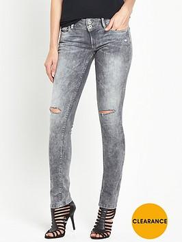 pepe-jeans-pepe-vera-ripped-knee-low-rise-skinny-jean