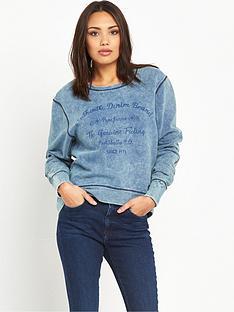 pepe-jeans-pepe-irene-logo-sweat