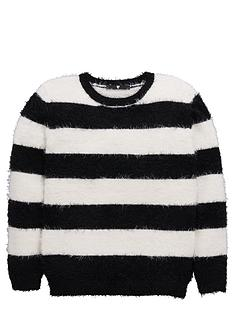v-by-very-girls-eyelash-stripe-jumper