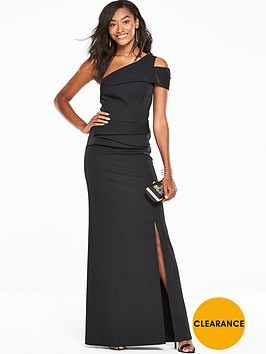 v-by-very-one-shoulder-peplum-maxi-dress-black