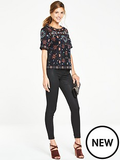 v-by-very-embroidered-shell-top