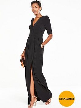 v-by-very-structured-shoulder-maxi-dress