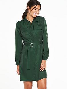 v-by-very-shirt-dress-green