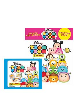 disney-tsum-tsumnbsppanini-sticker-collection-50-packets-of-stickers-starter