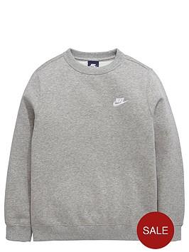 nike-older-boys-club-crew-sweatshirt