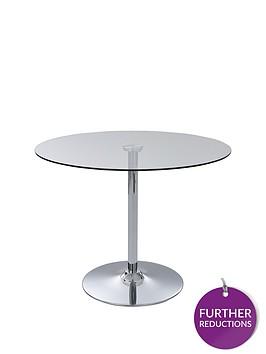 havana-glass-and-chrome-95-cm-round-dining-table