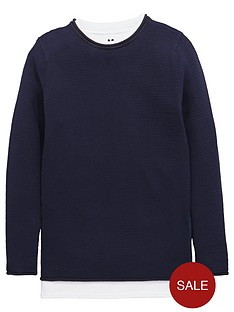 v-by-very-boys-waffle-knit-mock-t-shirt-jumper