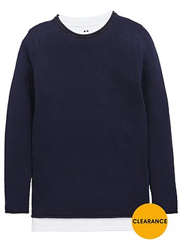 v-by-very-boys-waffle-knit-mock-t-shirt-jumper