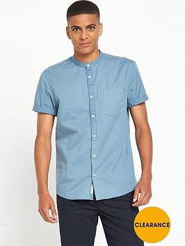 river-island-short-sleeve-grandad-collar-shirt