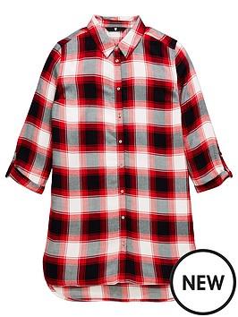 v-by-very-girls-check-shirt-dress
