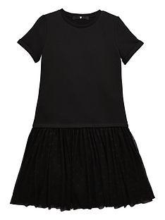 v-by-very-girls-mesh-skirt-dress