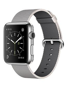 apple-42mm-stainless-steel-case-with-pearl-woven-nylon