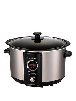 morphy-richards-stainless-steel-35-litre-digital-sear-amp-stew-slow-cooker