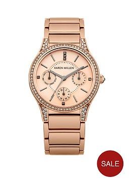 karen-millen-karen-millen-rose-tone-dial-rose-tone-stainless-steel-bracelet-watch