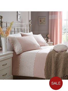 floral-geo-applique-duvet-set-pink
