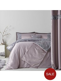 sequin-floral-lace-border-duvet-cover-set-grey