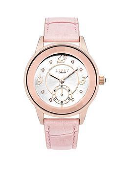 lipsy-lipsy-silver-tone-dial-light-pink-strap-ladies-watch