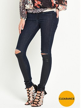 guess-guess-ripped-shiny-jegging-blue-porcelain
