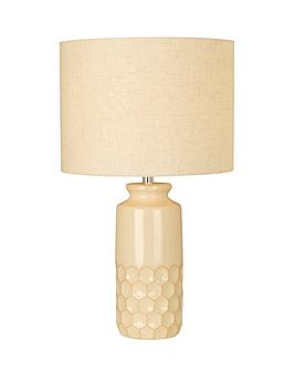 honeycomb-table-lamp