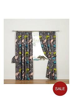 dinosaur-curtains