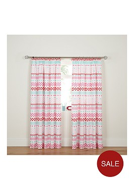 hearts-stripes-pleated-curtains