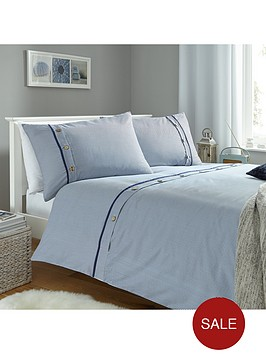 buttoned-stripes-duvet-cover-set