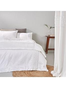 pleated-diamante-border-duvet-cover-set