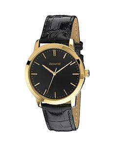 accurist-accurist-black-dial-gold-tone-case-black-leather-strap-mens-watch