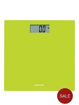 salter-glass-digital-platform-bathroom-scale-in-lime