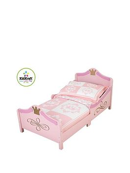 kidkraft-princess-toddler-bed