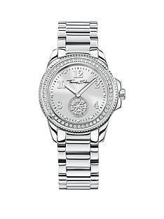 thomas-sabo-glam-chic-silver-tone-dial-stainless-steel-bracelet-ladies-watchnbspplus-free-diamond-bracelet