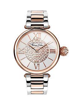 thomas-sabo-karma-white-dial-two-tone-stainless-steel-bracelet-ladies-watchnbspplus-free-diamond-bracelet