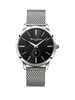 thomas-sabo-eternal-rebel-stainless-steel-mesh-bracelet-mens-watch