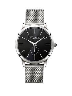 thomas-sabo-eternal-rebel-stainless-steel-mesh-bracelet-mens-watchnbspplus-free-diamond-bracelet