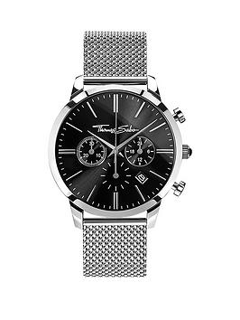 thomas-sabo-eternal-rebel-chronographnbspsteel-mesh-bracelet-watchnbspplus-free-diamond-bracelet