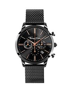 thomas-sabo-eternal-rebel-chronographnbspblack-stainless-steel-mesh-bracelet-watchnbspadd-item-ktjq4-to-basket-to-receive-free-bracelet-with-purchase-for-limited-time-only