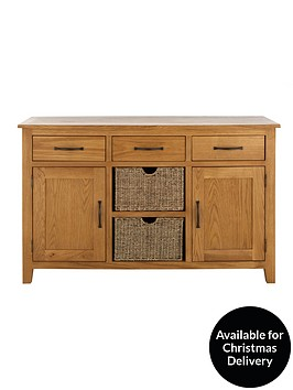 london-seagrass-ready-assembled-large-oak-sideboard