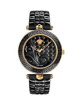 versace-versace-vanitas-ceramic-black-baroque-pattern-dial-black-ceramic-quilted-bracelet-ladies-watch
