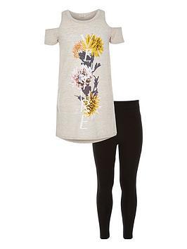 river-island-girls-floral-cold-shoulder-t-shirt-and-leggings-set