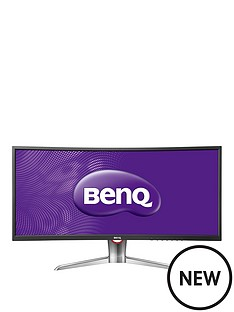 benq-xr3501-35in-2560x1080-va-curved-144hz-gaming-widescreen-led-monitor-black