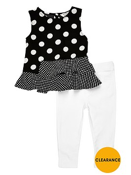 river-island-mini-girls-peplum-top-and-leggings-set