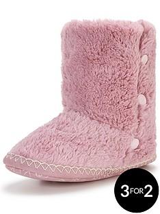 bedroom-athletics-diana-button-detail-slipper-boot-light-pink