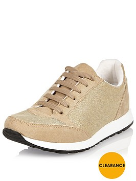 river-island-gold-glitter-runner-trainer
