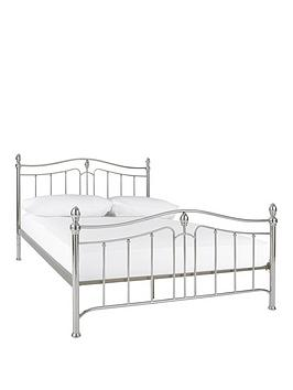 cirencesternbspmetal-double-bed-frame-with-optional-mattress
