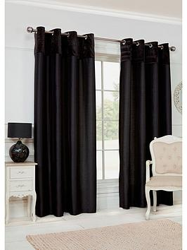velvet-border-eyelet-curtains