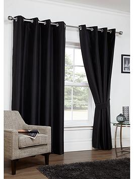 faux-silk-thermal-blackout-eyelet-curtains-with-tiebacks