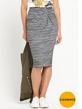 river-island-jersey-twist-knot-pencil-skirt